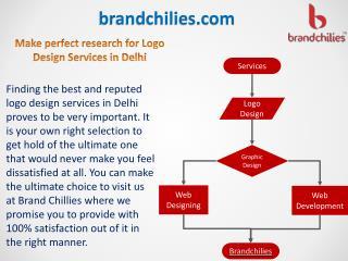 Make perfect research for Logo Design Services in Delhi