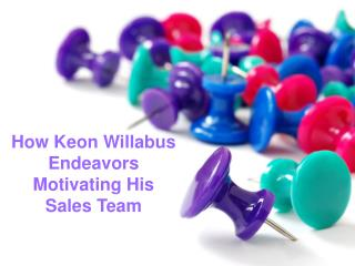 Top Ten Human Resource Manager in UK- Keon Willabus