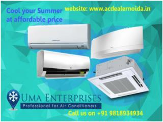 Low Cost AC from AC Dealers in Noida Call 9818934934