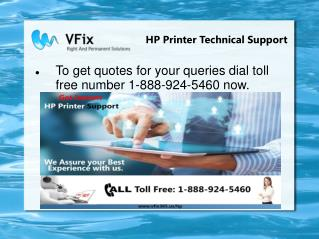 Hp printer tech support phone
