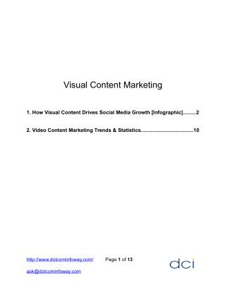 Importance of Visual Content Marketing