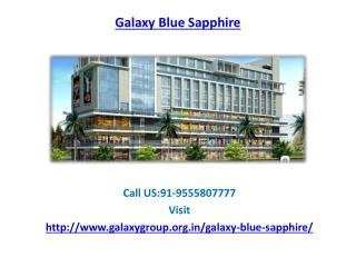 Galaxy Blue Sapphire retail shops