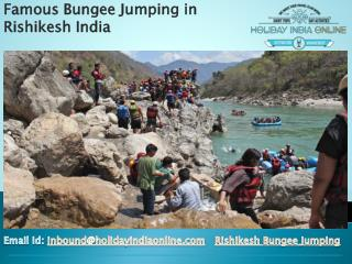 Famous Bungee Jumping in Rishikesh India