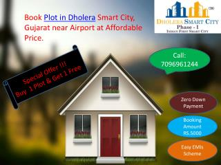 Buy Plot in Dholera Smart City