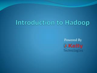 Best Hadoop training in Bangalore