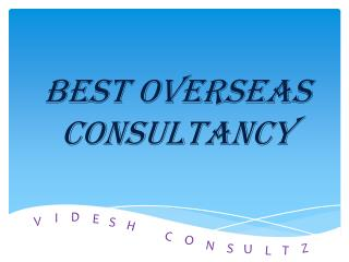 Best Overseas Consultancy in Hyderabad