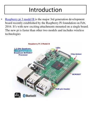 Buy Raspberry Pi 3 Model B Online India - Robomart