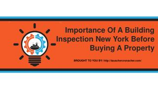 Importance Of A Building Inspection New York Before Buying A Property
