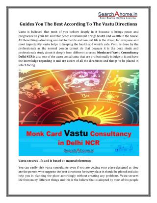 Monkcard Vastu Consultancy in Delhi Ncr