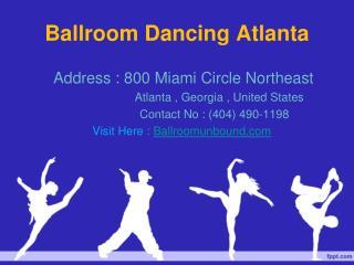 Ballroom Dancing Atlanta