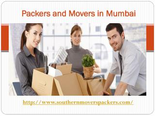 Southern Cargo Packers and Movers In Mumbai Your #1 Choice