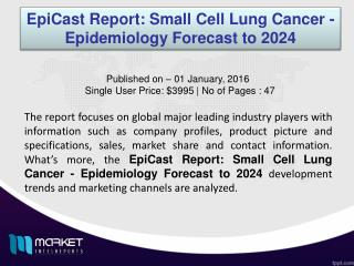Small Cell Lung Cancer - Epidemiology Market - Global Industry Size, Share, Trends, Analysis