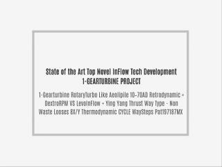 1-State of the Art-Novel InFlow Tech-Project Development Gearturbine Rotary Turbo