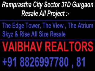 Ramprastha The Atrium Resale // Ramprastha The Atrium Resale Call 8826997781