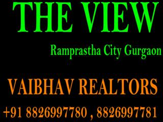 Ramprastha The View 3 BHK 1485 Sqft Apartments For Sale Sec 37D GGN Call 8826997780