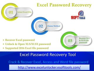 MS Excel password recovery to crack XLSX password & Recovery Excel password
