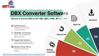 Outlook Express DBX File Converter to Recover & convert Outlook Express DBX file to PST