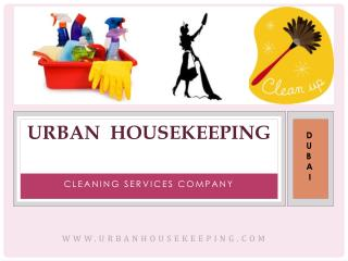 Cleaning Company Dubai - Urban Housekeeping