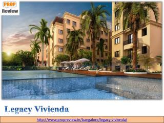Legacy Vivienda Devanahalli, North Bangalore