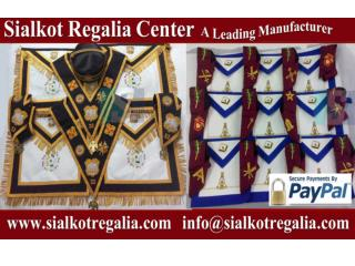 Masonic Scottish rite 32nd degree Apron & collar set