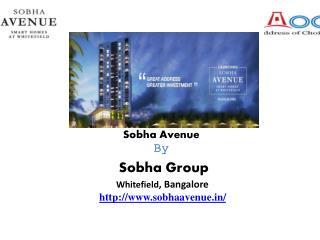 Sobha Avenue, Sobha Avenue Whitefield, Bangalore