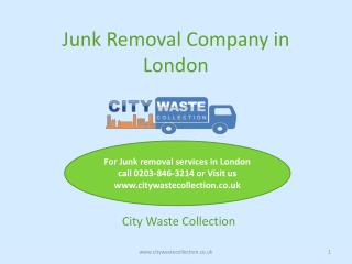 Why is Junk Removal in London so Important?