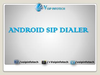 Android Sip Dialer