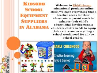 Kidsorb School Equipment Suppliers in Alabama