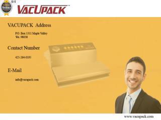 Vacuum Sealers Online, Commercial vacuum packers for sale