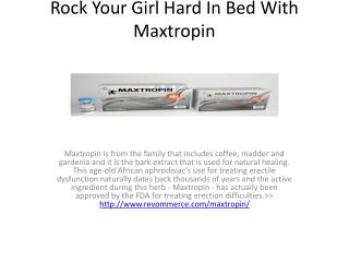Increase Your Muscle Power With Maxtropin
