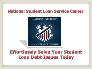 Direct Consolidation Loans