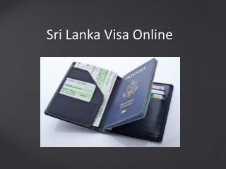 How to get a Sri Lanka tourist visa