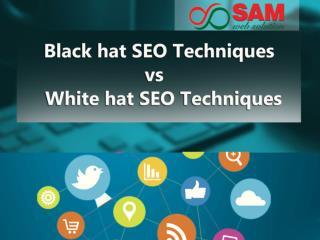 Black hat SEO techniques vs white hat SEO techniques