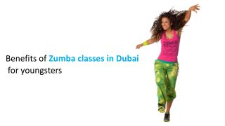Benefits of Zumba classes in Dubai for youngsters