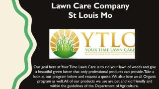 Lawn care company St. Louis Mo