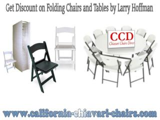 Get Discount on Folding  Chairs and Tables by Larry Hoffman