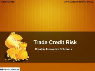 Trade Credit Risk