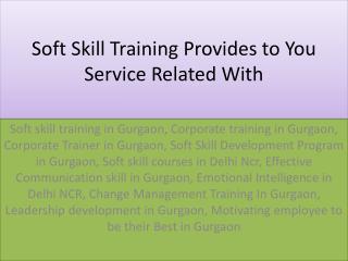Corporate Trainer In Gurgaon