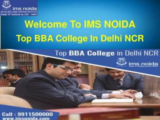 Top BBA College in Delhi NCR