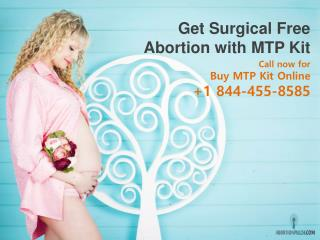 Get Surgical Free Abortion with MTP Kit