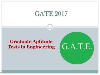 Online GATE Exam Test Series