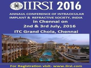 IIRSI conference 2016 Highlights