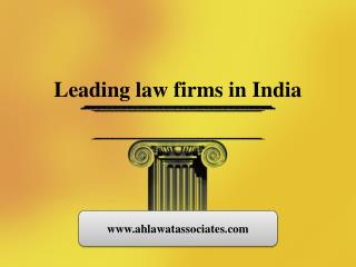 Leading law firms in India
