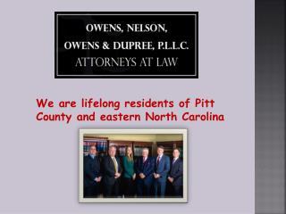 Attorneys Greenville NC