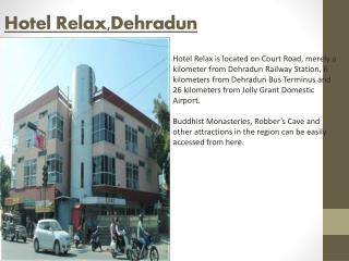 Book Hotel Relax Dehradun online