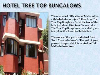Hotel TreeTop Bangalows in Mahabaleshwar