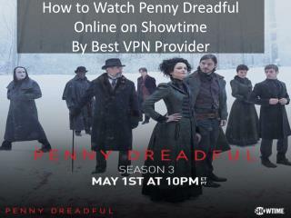 Watch Penny Dreadful Online