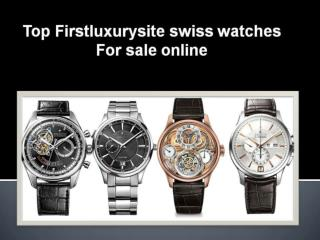 Top Firstluxurysite swiss watches online