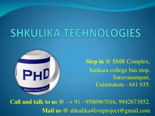 Thesis and Article writing contact us at 9500967016