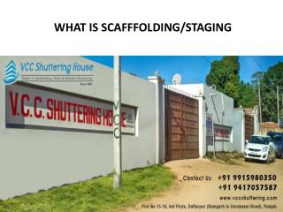 Shuttering & Scaffolding Store/suppliers on Rent/Hire in Chandigarh, Panchkula, Mohali